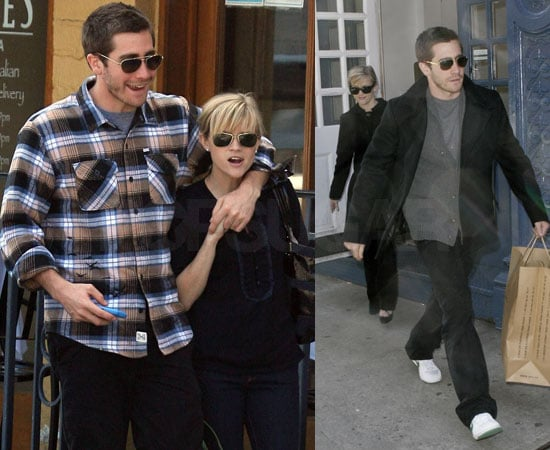 Reese Witherspoon and Jake Gyllenhaal images in LA and NYC