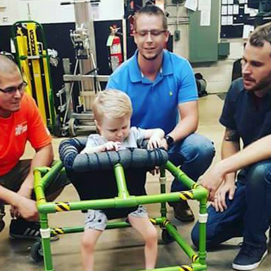 Home Depot Employees Build Walker For Kid With Disabilities