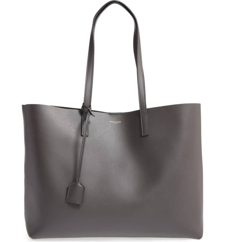 8d72094ce446 Saint Laurent Shopping Leather Tote