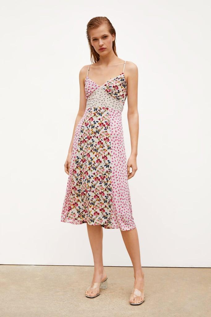 Zara Patchwork Print Dress