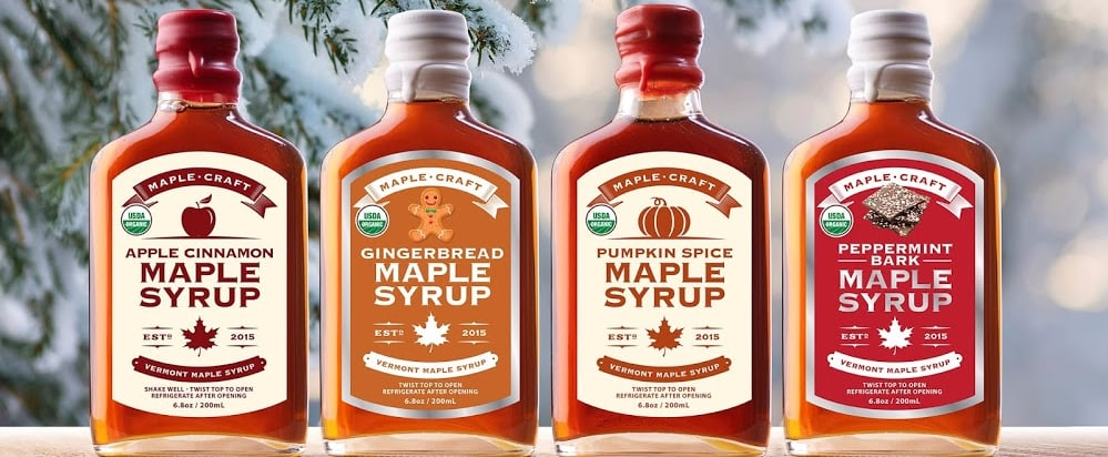 Maple Craft Released Holiday-Inspired Syrup Flavours