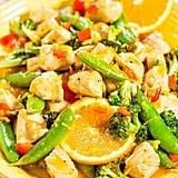 Orange Chicken With Vegetables
