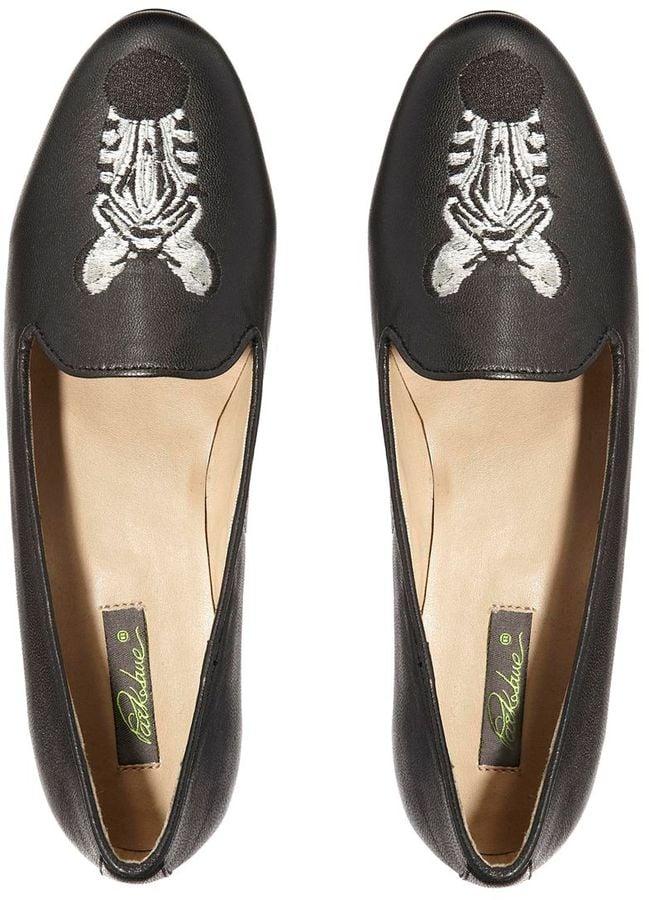 Park Lane Zebra Slippers