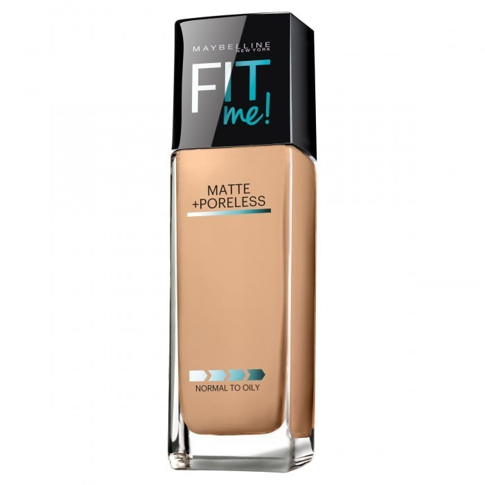 Maybelline NY FITme Matte + Poreless Foundation, $18.95