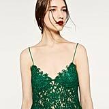 Zara Guipure Lace Top ($40)