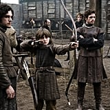 Robb Stark, Jon Snow, and Bran Stark From Game of Thrones