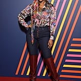 Tyra Banks at the TOMMYNOW Tommy Hilfiger x Zendaya Show
