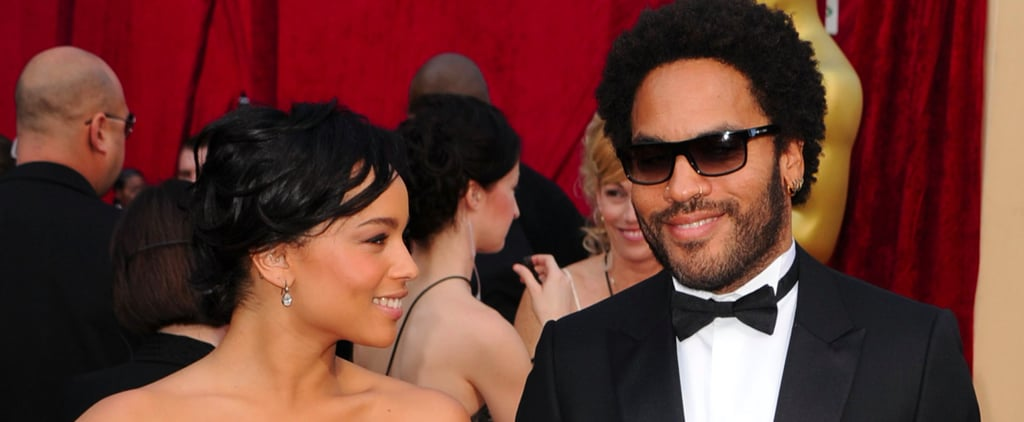 Lenny and Zoë Kravitz Might Be the Coolest Father-Daughter Duo in Hollywood
