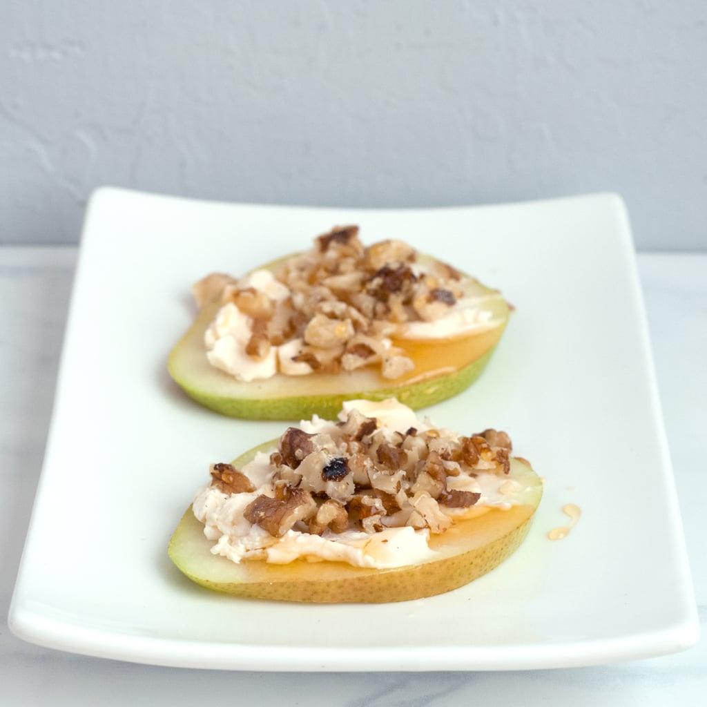 Walnut-Honey Pear Slices