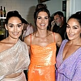 Nikki Bella, Alex Morgan, and Brie Bella at the Teen Choice Awards 2019