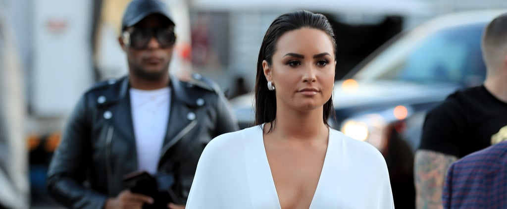 Demi Lovato Had Our Full Attention in the Boxing Ring With This Sexy Cape Dress