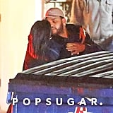 Selena Gomez and The Weeknd Kissing Pictures January 2017