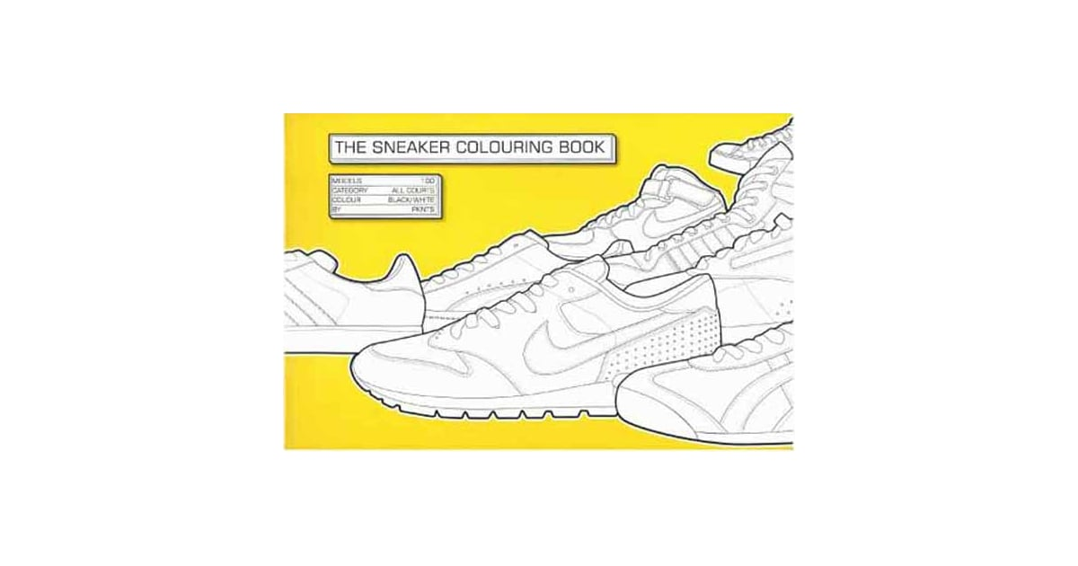 Cool Sneaker Coloring Book For Kids | POPSUGAR Moms