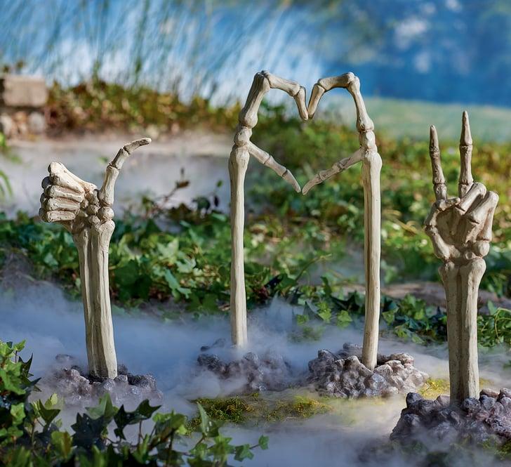 Best 2019 Halloween Decor At Grandin Road: Skeleton Ground Breaking Hands