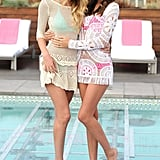 Miranda promoted the Victoria's Secret 2012 Swim collection with fellow Angel Candice Swanepoel.