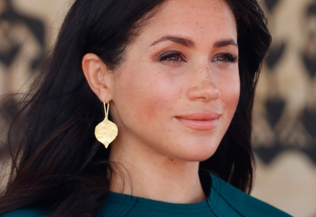 "Meghan's Freckles Must Be ""Peeking Through"""