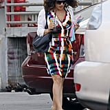 Salma Hayek arrived ready to read the Savages script.