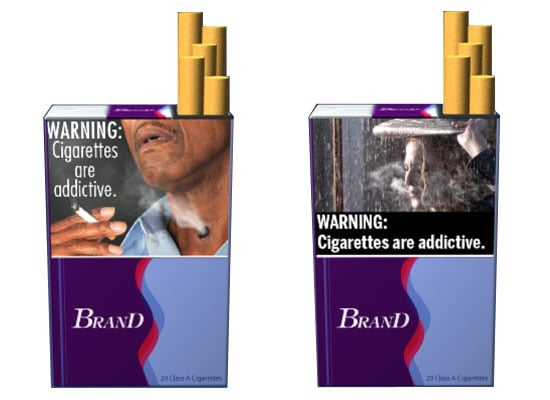 FDA Proposes Graphic Cigarette Warning Labels