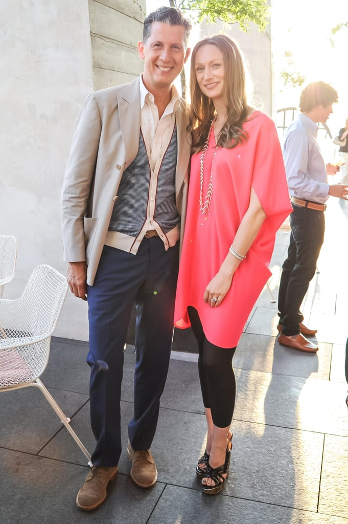 Stefano Tonchi and Judith Puckett-Rinella at a dinner Neville Wakefield and Richard Phillips hosted in New York to celebrate the Playboy Marfa project. Source:  Billy Farrell/BFAnyc.com