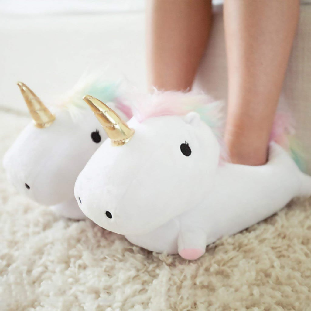 Light-Up Unicorn Slippers | Good Christmas Gifts For Kids | POPSUGAR ...