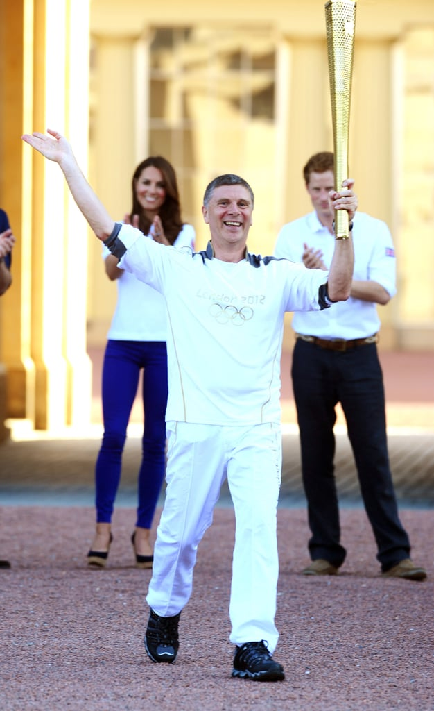Kate Middleton and Prince William Olympic Torch Pictures
