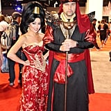 Princess Jasmine and Jafar
