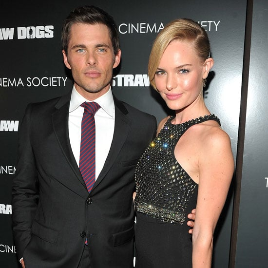 Kate Bosworth and Alexander Skarsgard Pictures at Straw Dogs Premiere