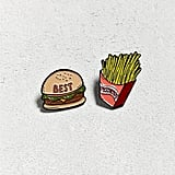 Valley Cruise Press X UO Burger And Fries Pin Set ($20)