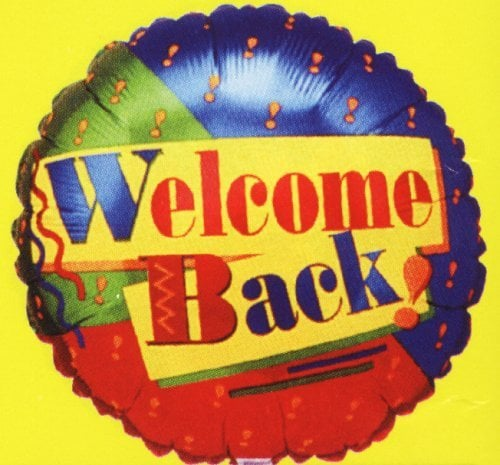 Come Party With Me: Welcome Back - Menu