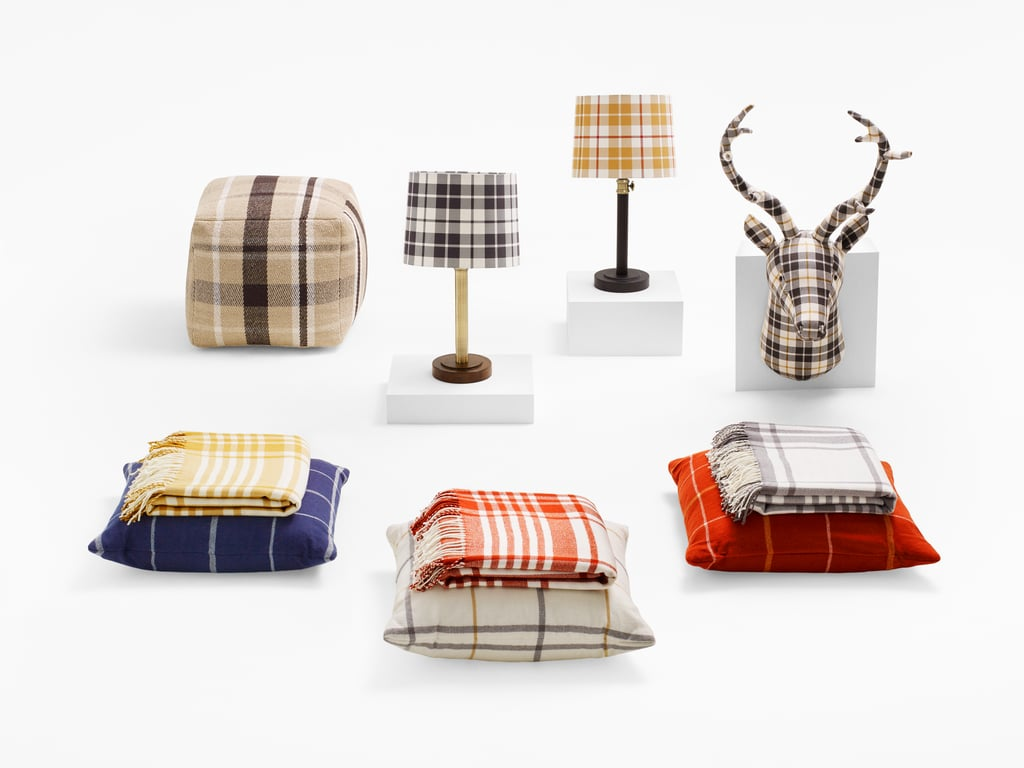 Plaid home decor from target fall 2015 popsugar home for Home decorations at target