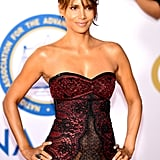 Halle Berry's Sheer Lace Gown Is More Revealing Than Your Raciest Lingerie