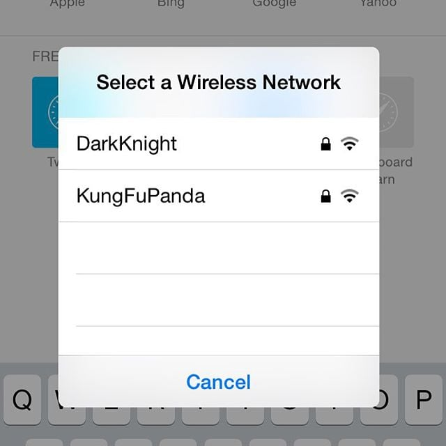 funny wifi names for moms