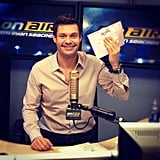 Ryan Seacrest planned to drop off his filled-out ballot after work. Source: Instagram user ryanseacrest