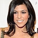 Kourtney Kardashian with Layered Short Haircut 2009