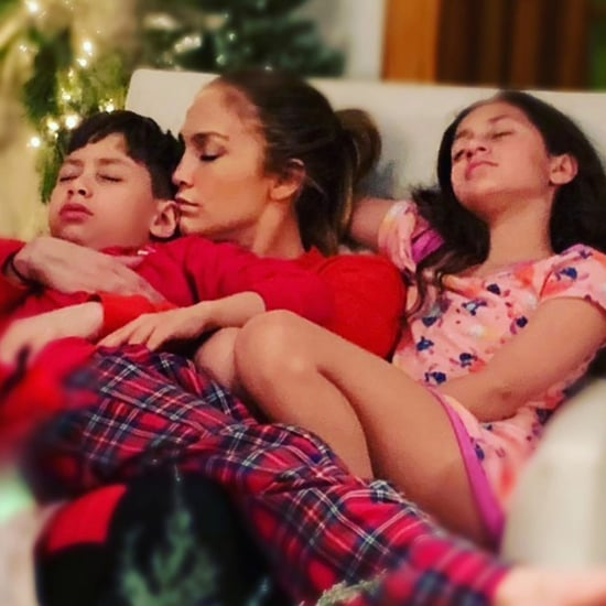 Jennifer Lopez and Her Kids on New Year's 2019