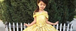 The Disney Dresses This Dad Designs For His Daughter Are WAY Better Than the Fairy Tales'