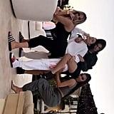 The Kardashian-Jenner Gals Struck Some Poolside Poses