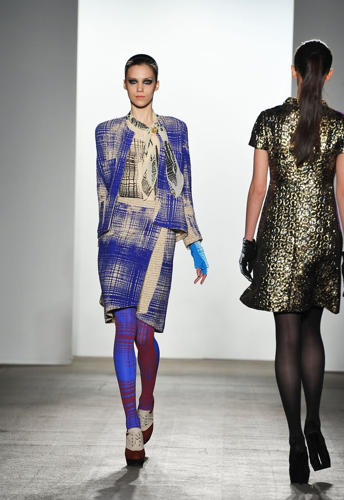 Johnson Hartig Displays Cool Prints and Covetable Coats For Libertine's Fall 2011 Collection