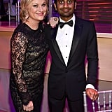 Amy Poehler and Aziz Ansari attended the Time dinner.