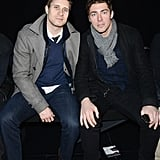 Joffrey Lupul and John-Michael Liles