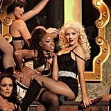 Christina Aguilera at the 2010 American Music Awards