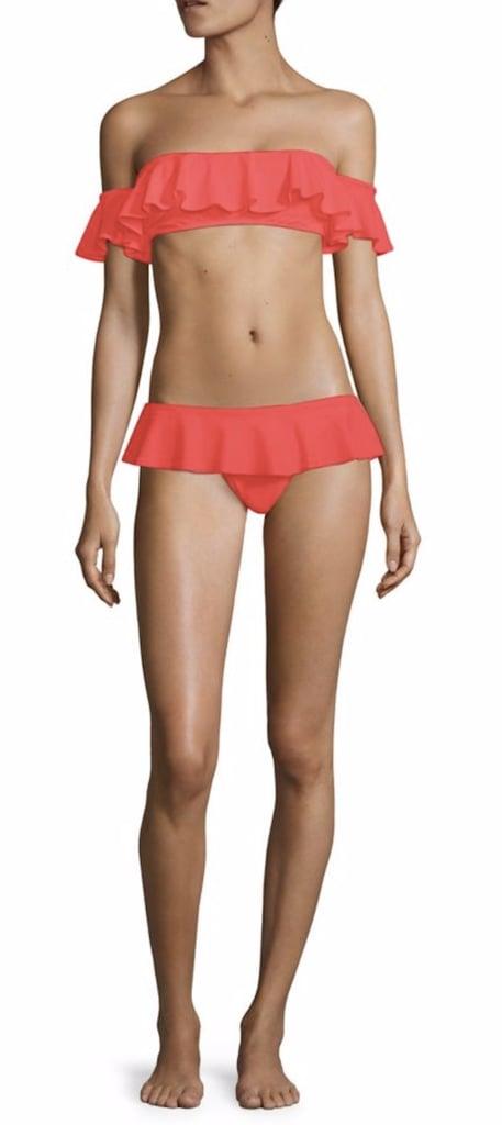 Milly Sirolo Ruffle Bandeau Bikini