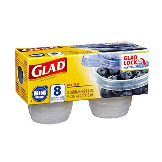 GladWare Mini Round Containers