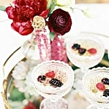 Toss in a few berries for a festive champagne toast.