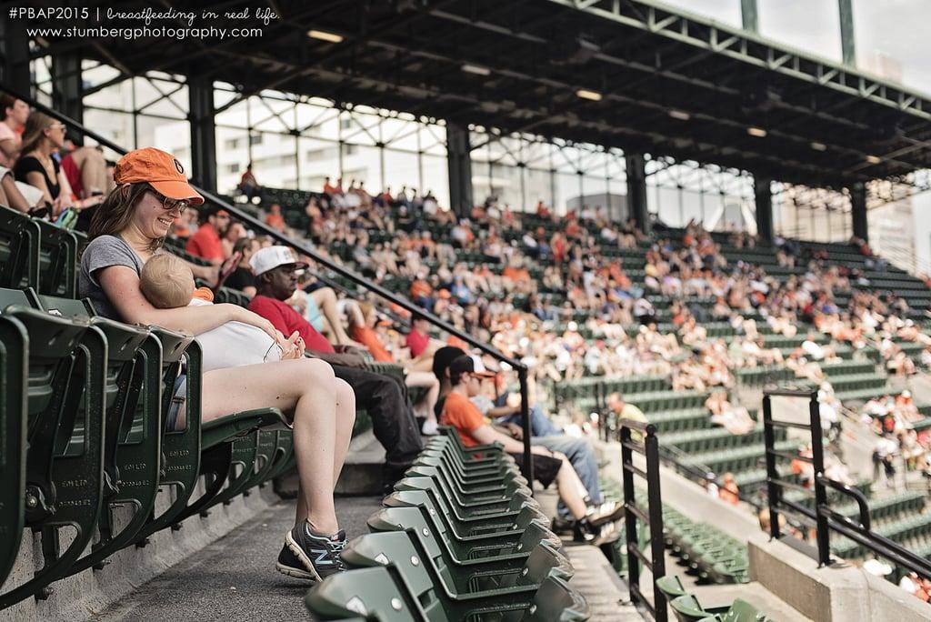 At a Baseball Game