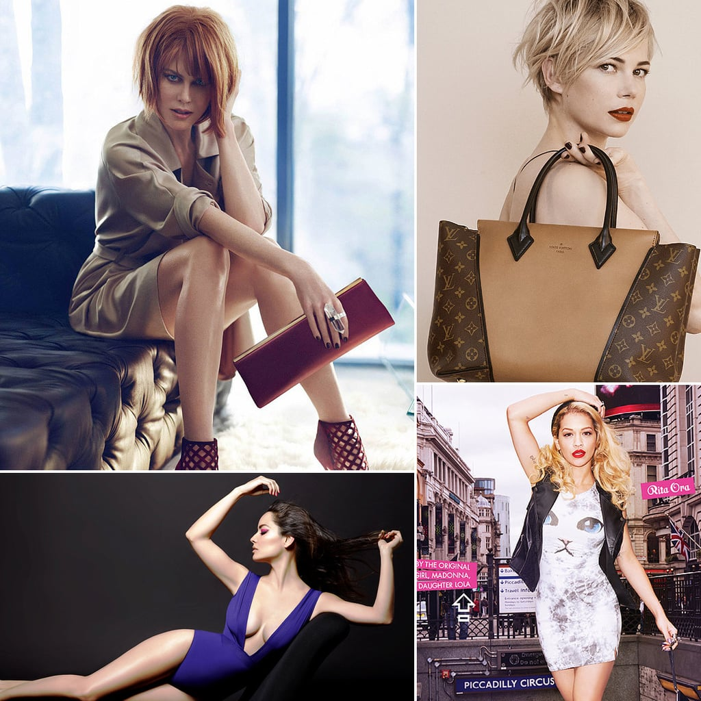 Star Power! Michelle Williams, Nicole Kidman, and More Front Autumn Campaigns