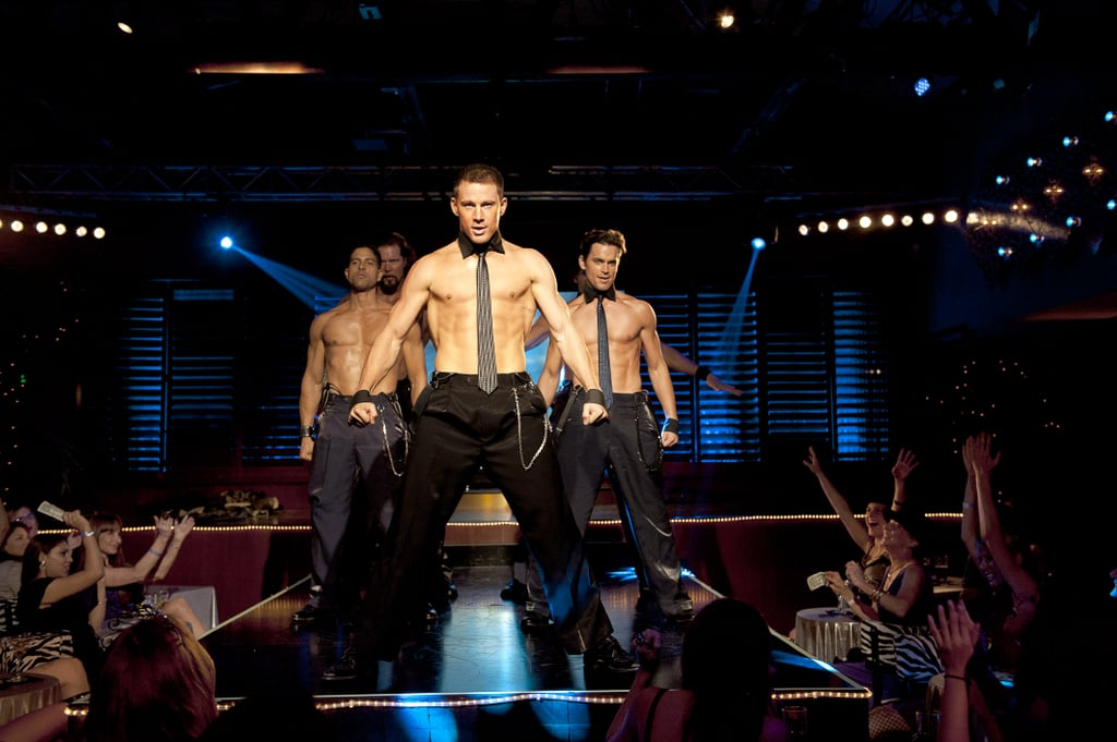 Joe Manganiello, Channing Tatum and Matt Bomer in Magic Mike.