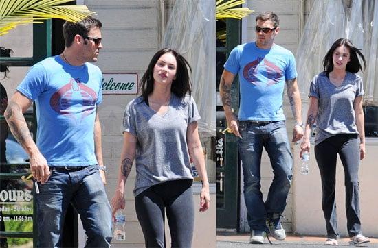 Photos of Megan Fox and Brian Austin Green In LA