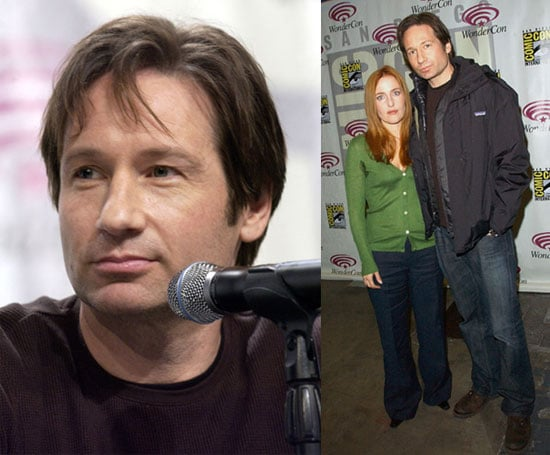 david duchovny and gillian anderson show off xfiles movie