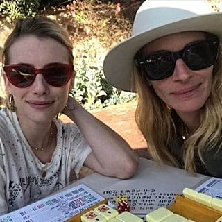 Julia Roberts and Emma Roberts Instagram Photo Sept. 2018